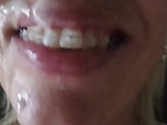 Amateur Blowjob Cumshot Facial MILF