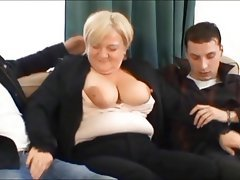 Cumshot Old and Young Mature Czech