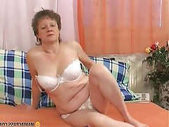 Brunette Granny Hardcore Mature Old and Young