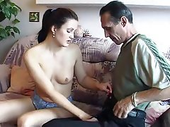 Anal Blowjob Brunette Russian Old and Young
