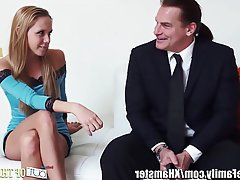 Face Sitting MILF Old and Young Threesome