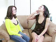 Lesbian MILF Old and Young Skinny Teen