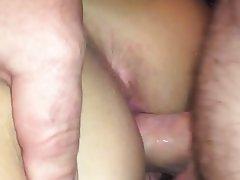 Amateur Close Up Creampie Orgasm POV