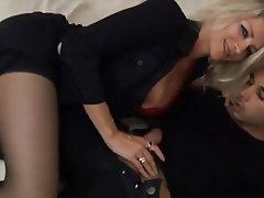 Blonde Double Penetration Hardcore MILF Old and Young