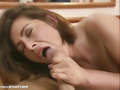 Big Boobs Cumshot Facial MILF Vintage