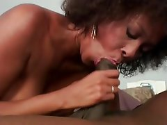 Hairy MILF Massage Black
