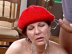 Mature MILF Old and Young Shaved Fucking