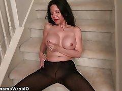 Mature Granny MILF Pantyhose