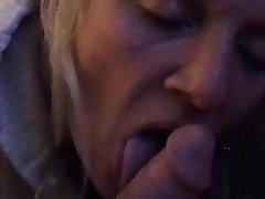 Amateur Blonde Blowjob Close Up Homemade