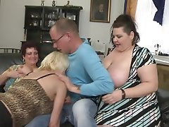 Mature Group Sex MILF Old and Young Granny