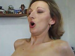 Anal French Mature MILF Stockings