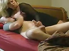 Blonde Handjob Hardcore Mature Old and Young