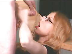 Amateur Blonde Handjob