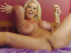 Big Boobs Blonde Masturbation Pornstar Squirt