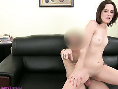 Anal Babe Blowjob Casting Creampie