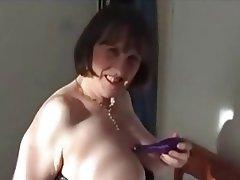 Masturbation Mature MILF Stockings