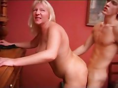 Blowjob Cumshot MILF Old and Young