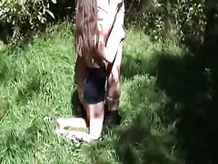 Amateur German Mature Old and Young Outdoor