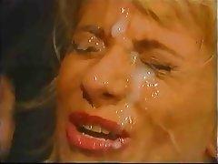 Anal Blonde Cumshot Facial Vintage