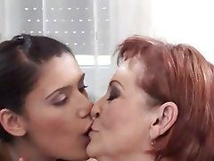 Group Sex Lesbian Old and Young