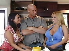 Big Boobs Mature MILF Pornstar Threesome