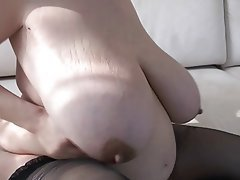 BBW Big Boobs Brunette MILF