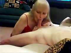 Blonde Blowjob Mature Old and Young