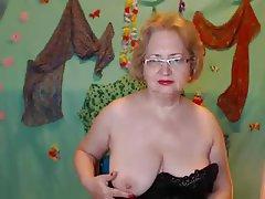 Amateur Granny Mature MILF Webcam
