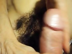 Amateur Close Up Hairy MILF POV